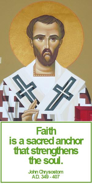 chrysostom faith 2