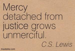 cs lewis mercy