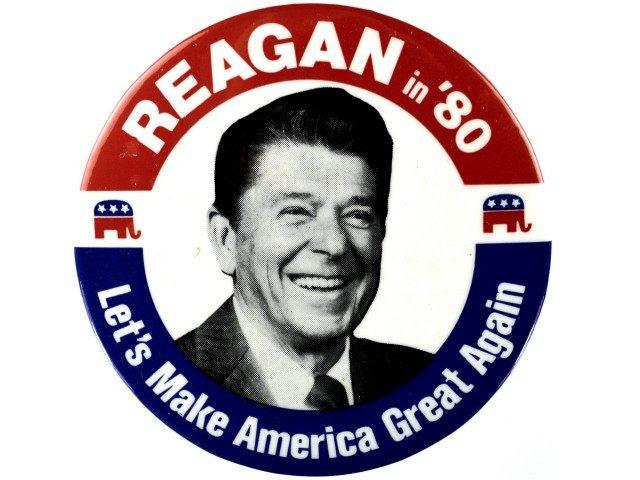 reagan 80 button